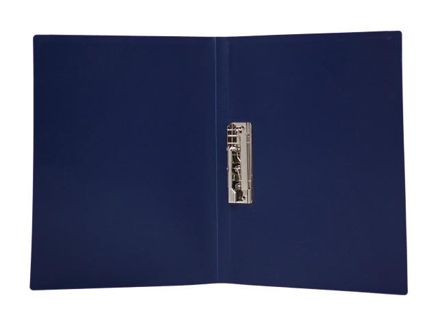 Папка с зажимом А4 синяя Песок Kanzfile 055Z-E