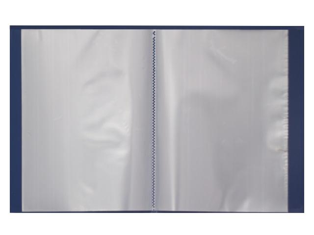 Папка с файлами  60ф А4 синяя Песок Kanzfile 065-60E
