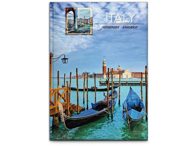 Записная книжка А6 тв/переплёт  96л Венецианские гондолы Prof Press 96-4519