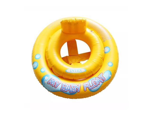 Круг 67см с ножками My Baby Float 1-2 года Intex 59574