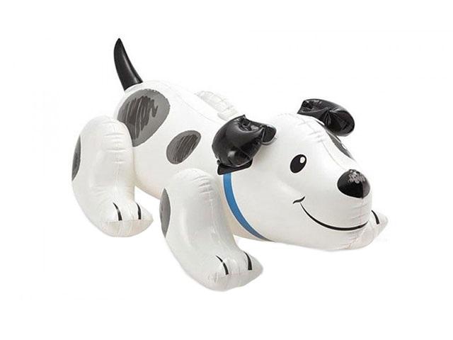 Игрушка надувная, 71*108 см, Собака, с держателями, в коробке, Intex