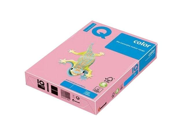 Бумага А4 160 г/м2 250 л. IQ Color пастель розовый фламинго OP174