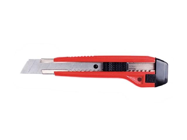 Нож канцелярский  9 мм DeVente черно-красный 4090307
