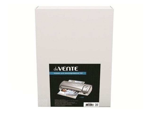Пленка для ламинирования А4 125мкм DeVente 210*303мм 100шт 4122306