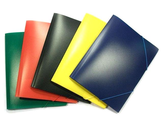 Папка на резинке А4 синяя Kanzfile 045-PR-E
