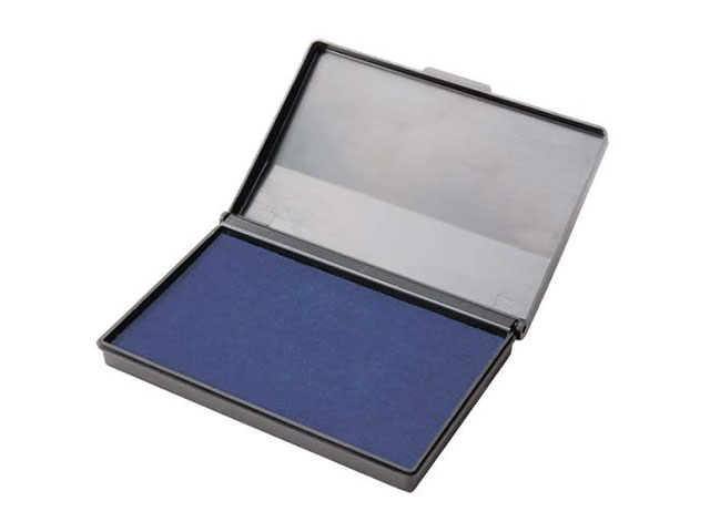 Подушка штемпельная Attomex синяя 110*70мм 4117302