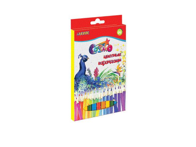 Карандаши цветные 36цв DeVente Cosmo шестигранные 5025300