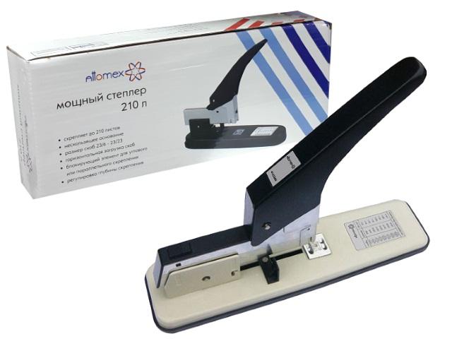 Степлер №23/6-23/23 240л металл серый Attomex 4142366