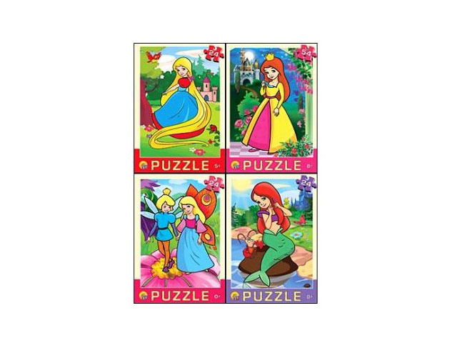 Пазлы   24 детали Сказки для девочек П24-6324