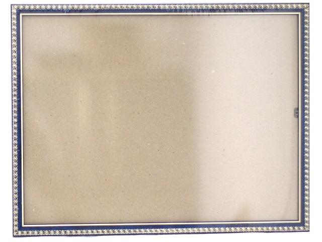 Фоторамка 30*40см синяя с узором 118-3031-6