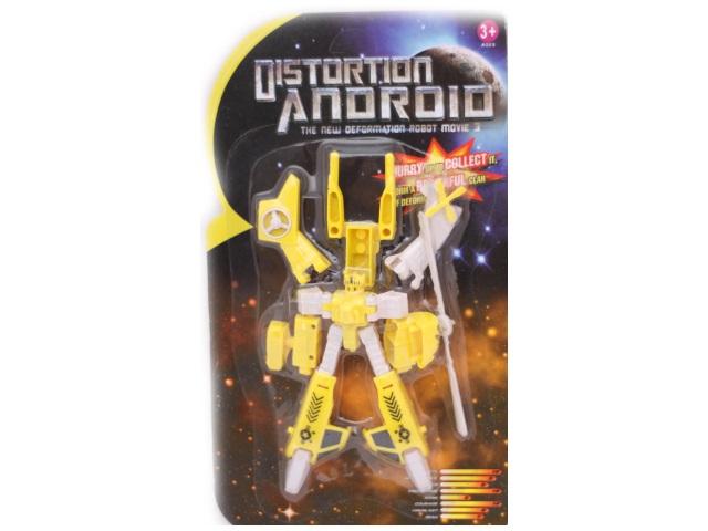 Трансформер 10см Distortion Anoroid 0136