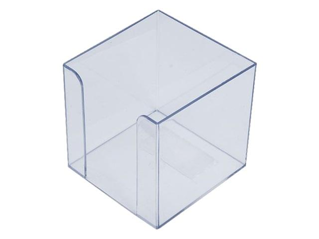 Бокс для бумаги 9*9*9 см Attomex пластик прозрачный 4105403