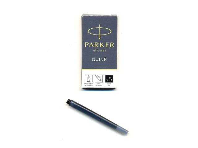 Капсулы  5 шт. Parker Quink черные 1950382