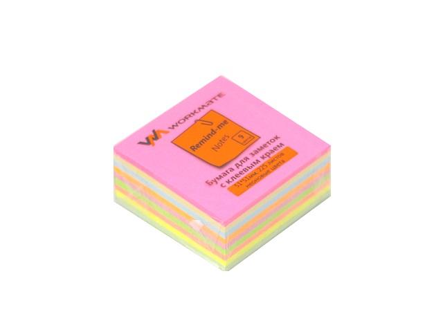 Стикер 51*51мм 225л 9 цветов WM 003005500