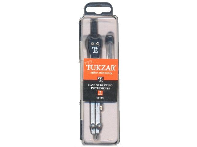 Готовальня 2 предмета в пластиковой коробке, Tukzar TZ 7291