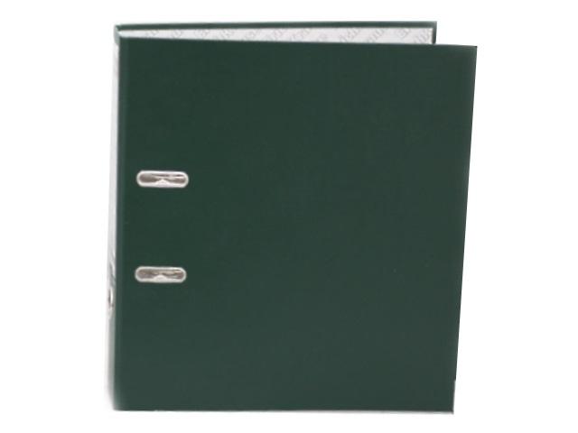 Регистратор  А4/70 EK зеленый с металлической окантовкой 208