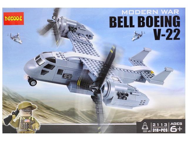 Конструктор 318 деталей Bell Boeing V-22 2113