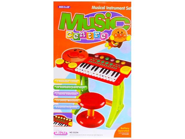 Пианино на батарейках Music Centre Baoli на подставке 3025А