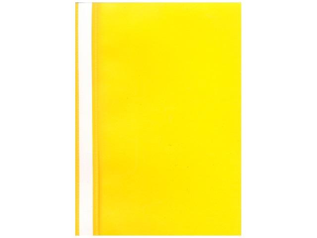 Скоросшиватель А4  желтый матовый Kanzfile ПС-200