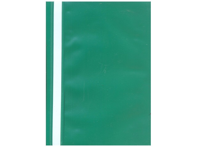 Скоросшиватель А4  зеленый матовый Kanzfile ПС-200