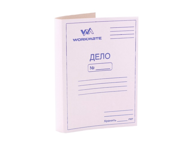 Скоросшиватель картон А4 Дело 290 г/м2 WM 080001400