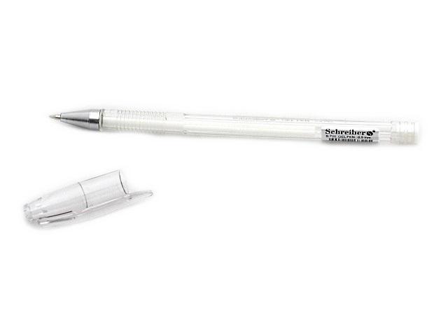 Ручка гелевая Schreiber белая S-705 0.5мм