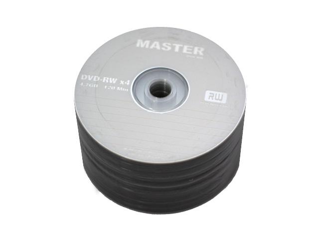 Диск DVD-RW 4.7Gb 4x Bulk, Master
