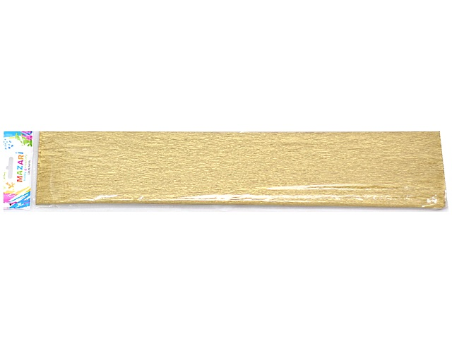 Гофробумага Mazari золото 50*250 см М-8848