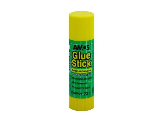 Клей-карандаш 22г Amos