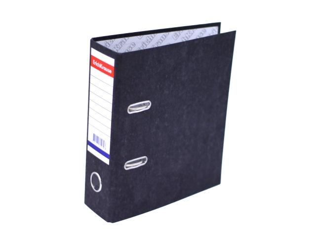 Регистратор  А5/70 Basic цветной мрамор с металлической окантовкой 36097
