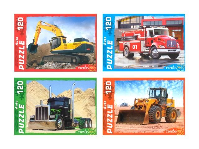 Пазлы  120 деталей Важный транспорт П120-0248