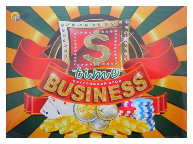 Настольная игра Бизнес-Тайм ИН-5441