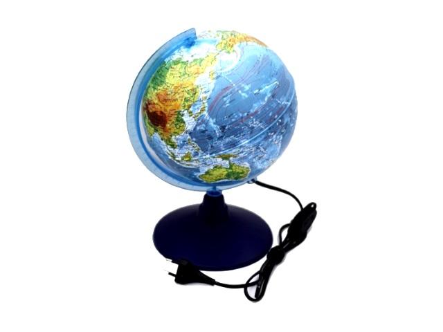 Глобус физико-политический D 210 мм с подсветкой Ке012100181