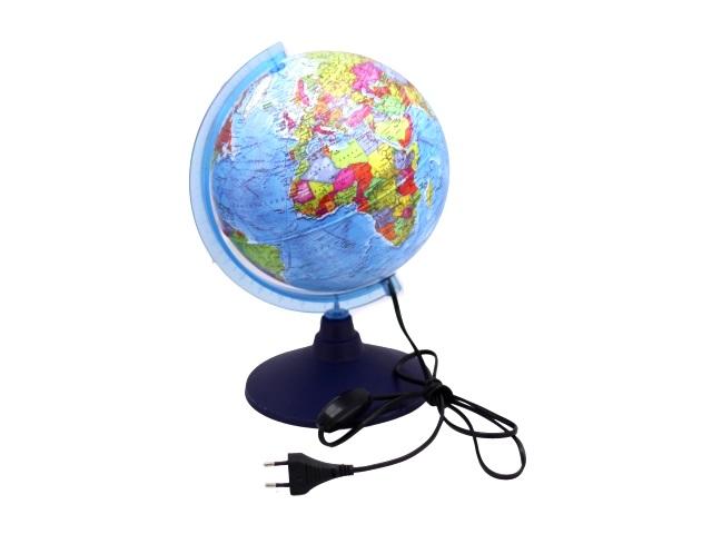 Глобус политический D 210 мм с подсветкой Ке012100180