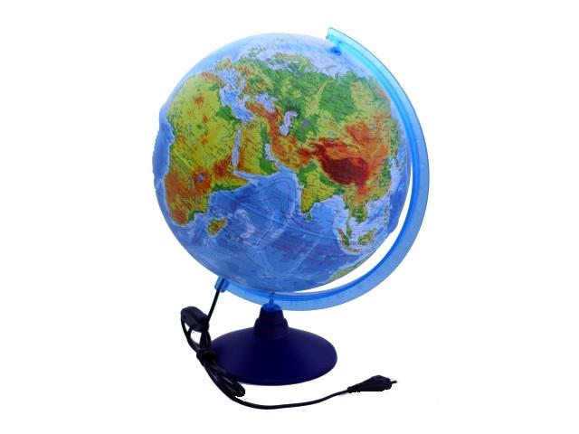 Глобус физико-политический D 320 мм с подсветкой Ке013200228