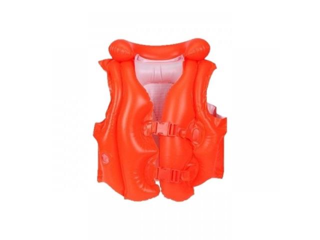 Жилет 50*47см оранжевый 3-6 лет Intex 58671