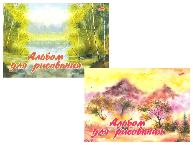 Альбом 40л А4 клееный Природа 100 г/м2 Академия Групп ЕАС-8570-2