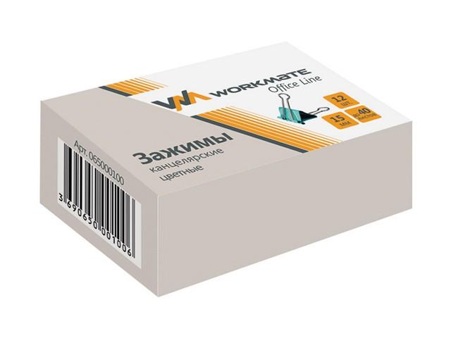 Биндер цветной 15 мм WM 065000100