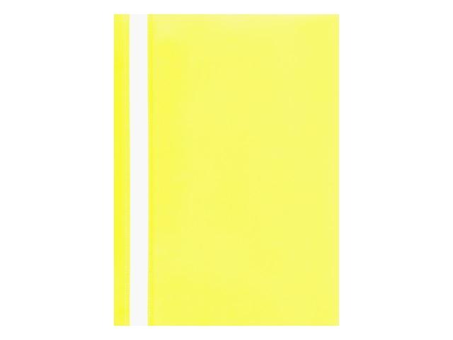 Скоросшиватель А4  желтый матовый Kanzfile ПС-110