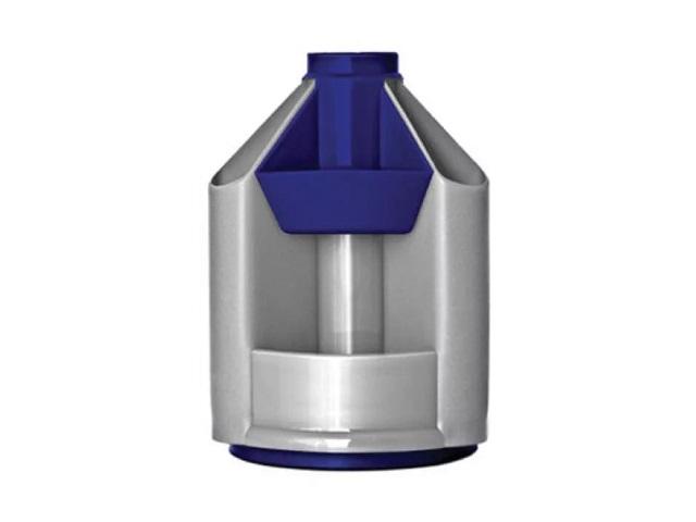 Подставка-органайзер 10 отделений Стамм MiniDesk серо-синяя круглая ОР90
