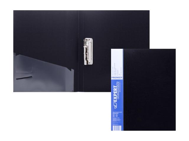 Папка с зажимом и карманом А4 черная 0.55мм Expert Complete 2205546