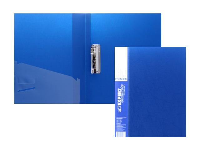 Папка с зажимом и карманом А4 синяя 0.7мм Expert Complete 2205557