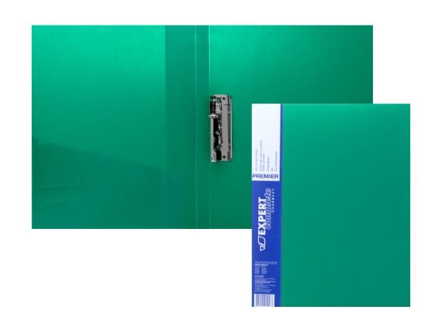 Папка с зажимом и карманом А4 зеленая 0.7мм Expert Complete 2205559