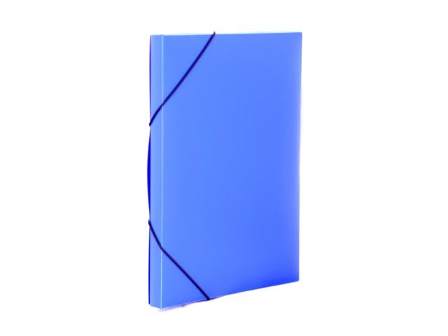 Папка архивная пластик на резинке А4  2см синяя Expert Complete 221676411
