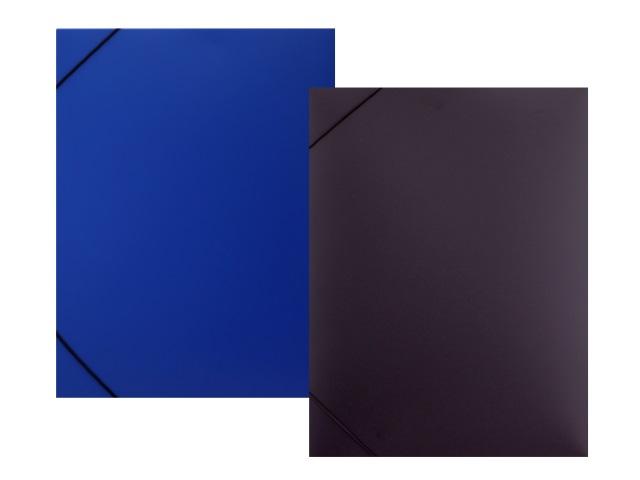 Папка архивная пластик на резинке А4  3.5см синяя/черная Expert Complete 221676412