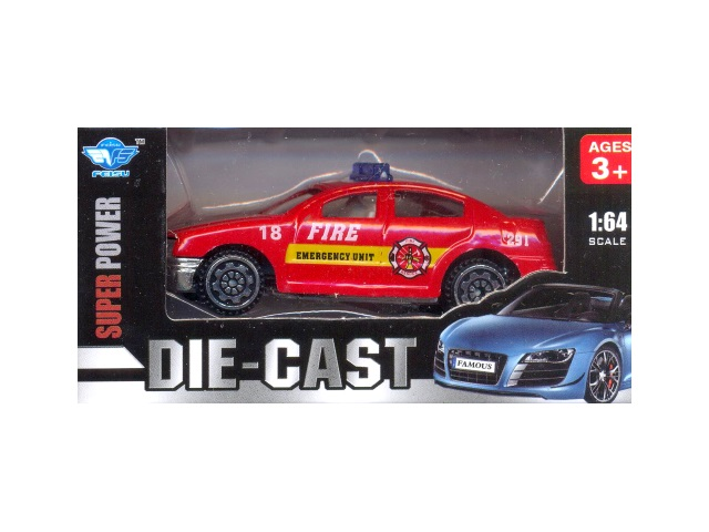 Машина металл Die-Cast Super Power 8 см