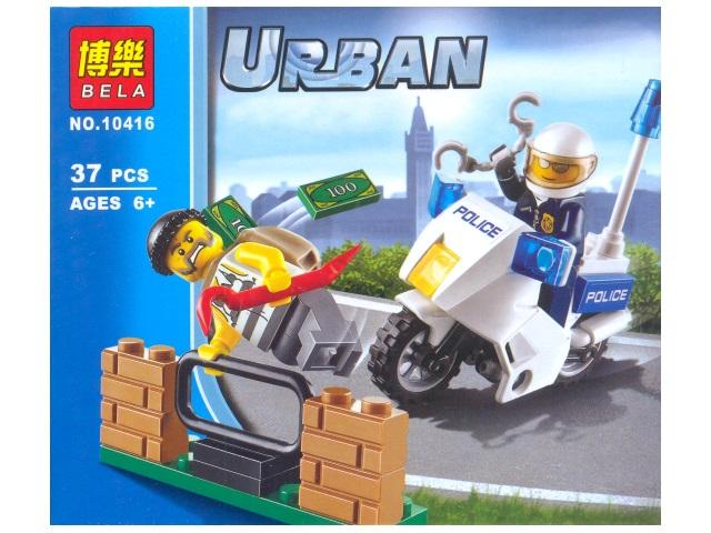 Конструктор  37 деталей Urban 10416