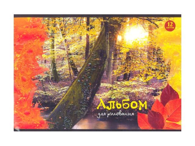 Альбом 12л А4 на скобах Природа 100 г/м2 WM 011000300