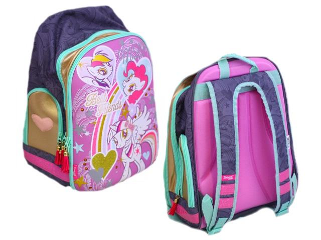 Ранец школьный My Little Pony 40*29*16см + подарок Академия Групп MPDB-RT2-855