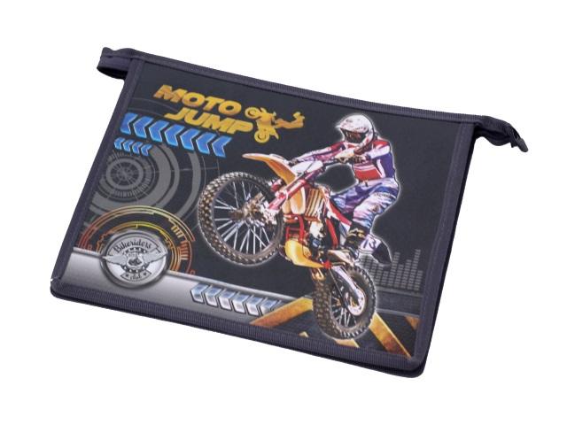 Папка для тетрадей А5 на молнии Moto Freestyle Пчелка ПМ-А5-229